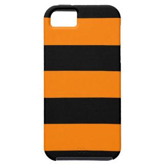 ハロウィンのストライプ iPhone SE/5/5s ケース