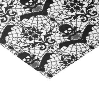 ハロウィンのダマスク織 薄葉紙