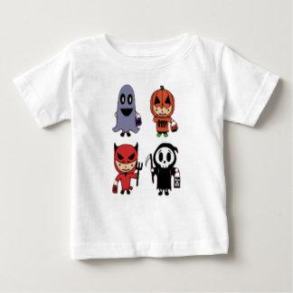 ハロウィンのティー ベビーTシャツ
