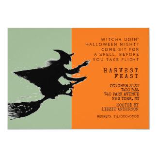 ハロウィンのディナー・パーティ カード