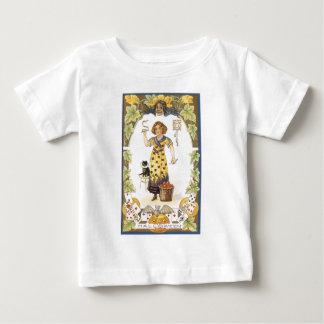 ハロウィンのトランプ ベビーTシャツ