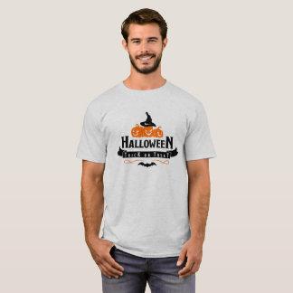 ハロウィンのトリック・オア・トリートのおもしろいな衣裳のTシャツ Tシャツ