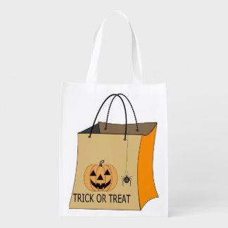 ハロウィンのトリック・オア・トリートのバッグ エコバッグ