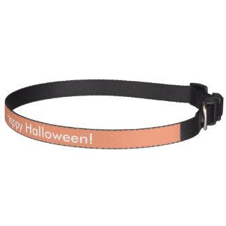 ハロウィンのドッグカラー ペット首輪