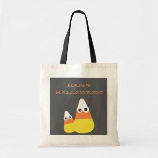 ハロウィンのバッグ|キャンデートウモロコシのトート トートバッグ