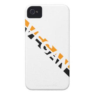 ハロウィンのビーガンは縞で飾ります Case-Mate iPhone 4 ケース