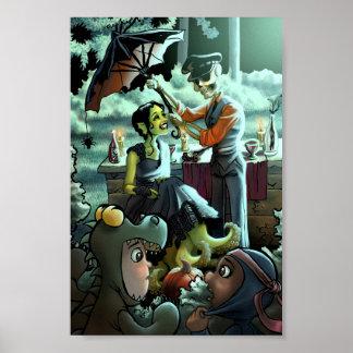 ハロウィンのピクニック ポスター