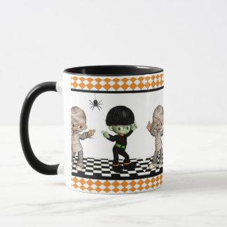 ハロウィンのブギウギWoogieのハロウィンのマグ マグカップ