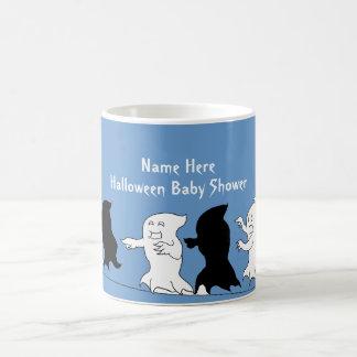 ハロウィンのベビーシャワーの幽霊のマグ-男の子 コーヒーマグカップ