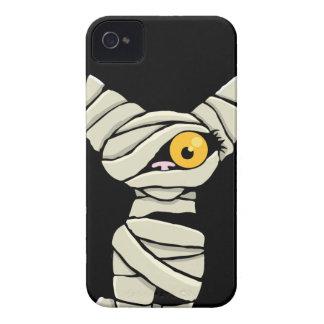 ハロウィンのミイラ猫 Case-Mate iPhone 4 ケース