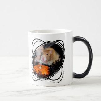 ハロウィンのラットのマグ モーフィングマグカップ