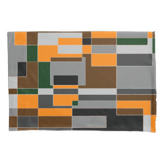 ハロウィンのレトロのテーマの抽象芸術 枕カバー