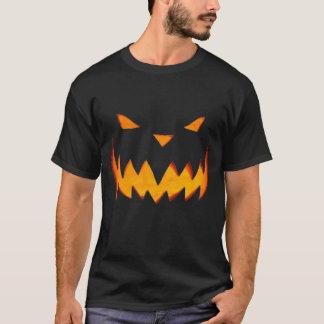 ハロウィンのワイシャツハロウィーンのカボチャのちょうちん Tシャツ