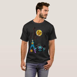 ハロウィンのワイシャツ Tシャツ