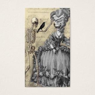 ハロウィンの仮面舞踏会 名刺