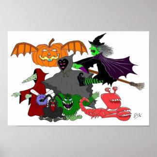 ハロウィンの創造物 ポスター