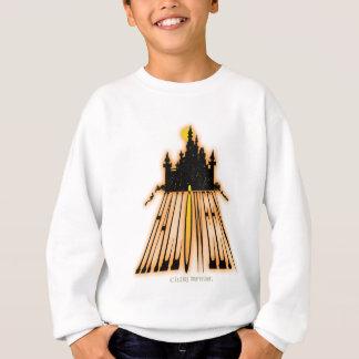ハロウィンの城 スウェットシャツ