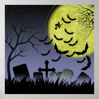 ハロウィンの墓のヤード ポスター