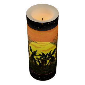 ハロウィンの妖精の電池式の蝋燭 LEDキャンドル
