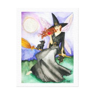 ハロウィンの妖精 キャンバスプリント