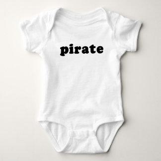 ハロウィンの安く、一般的な海賊Tシャツ ベビーボディスーツ
