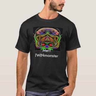 ハロウィンの対モンスター Tシャツ