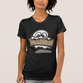 ハロウィンの小さい幽霊 Tシャツ