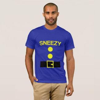ハロウィンの小びとのパーティーの衣裳 Tシャツ