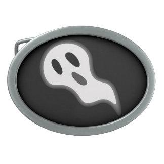 ハロウィンの幽霊のベルトの留め金 卵形バックル