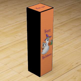 ハロウィンの幽霊のワイン用化粧箱 ワインギフトボックス