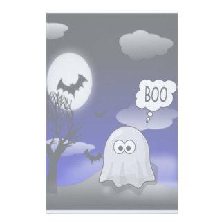 ハロウィンの幽霊 便箋