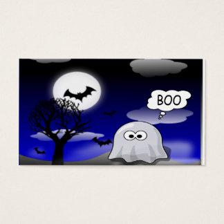 ハロウィンの幽霊 名刺