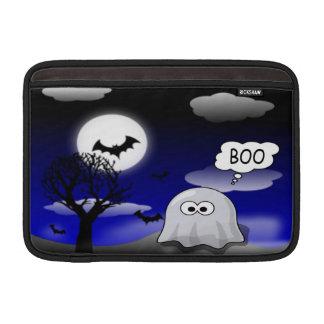 ハロウィンの幽霊 MacBook スリーブ