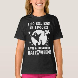 ハロウィンの幽霊 Tシャツ