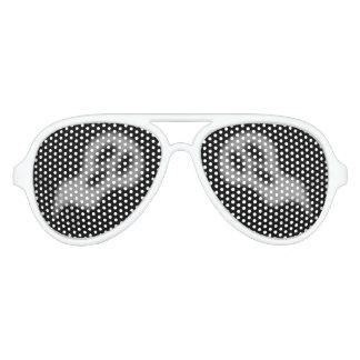 ハロウィンの幽霊Sunglass アビエーターサングラス