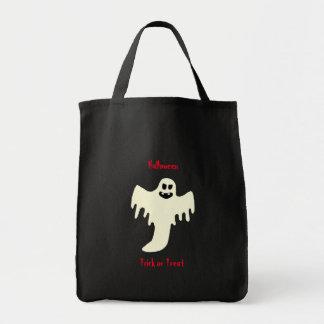 ハロウィンの恐い幽霊-トリック・オア・トリートのトートバック トートバッグ