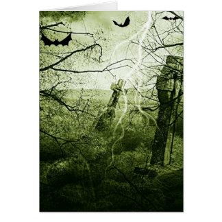 ハロウィンの恐怖夜 カード