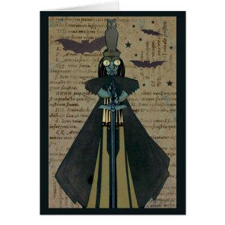 ハロウィンの悪鬼はフクロウの星を打ちます カード