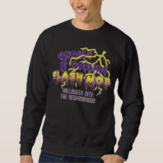 ハロウィンの抜け目がない暴徒の基本的なスエットシャツ スウェットシャツ