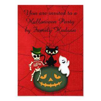 ハロウィンの招待状 カード