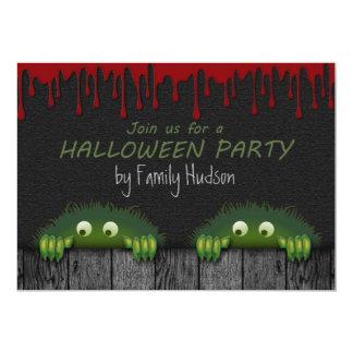 ハロウィンの招待 カード
