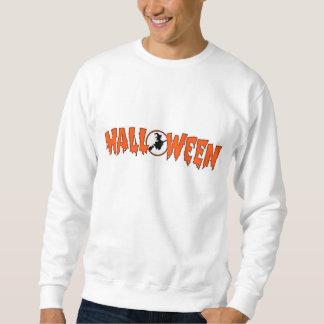 ハロウィンの挨拶の魔法使い スウェットシャツ