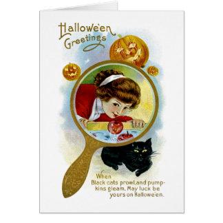 ハロウィンの挨拶 カード