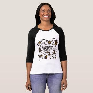 ハロウィンの文書 Tシャツ