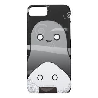 ハロウィンの日本のなマンガOnigiri iPhone 8/7ケース