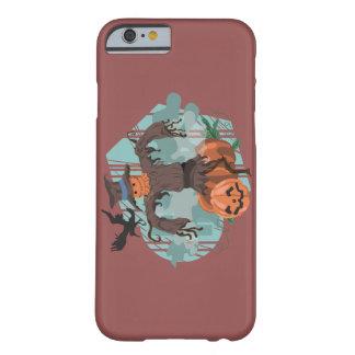 ハロウィンの暗闇のフクロウ BARELY THERE iPhone 6 ケース