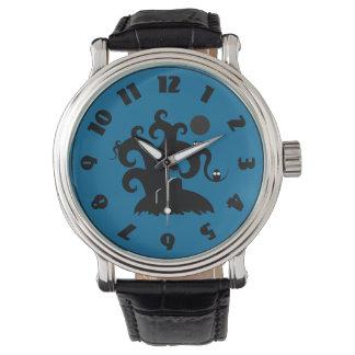 ハロウィンの木 腕時計