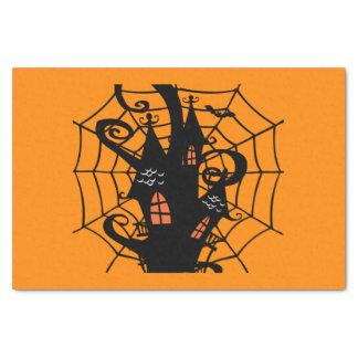 ハロウィンの気味悪いお化け屋敷 薄葉紙