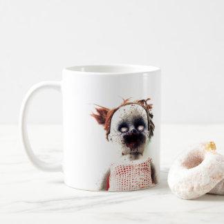 ハロウィンの気色悪いマグ コーヒーマグカップ