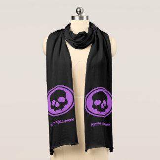ハロウィンの流行のスカル スカーフ